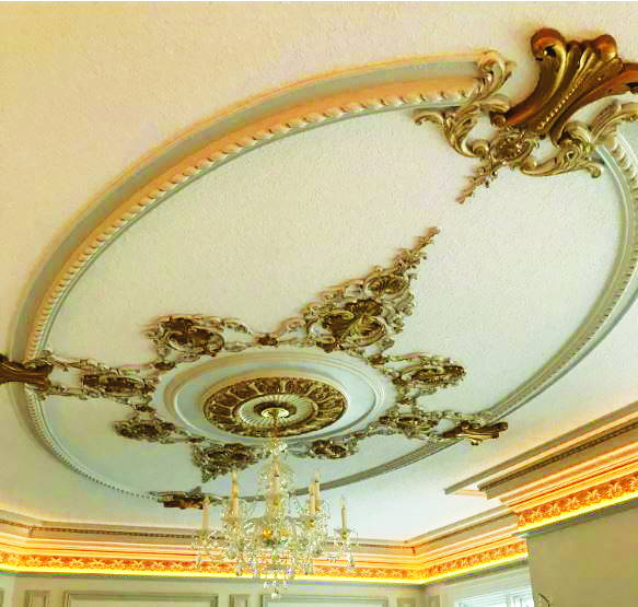 Ornamenting an Irregular Ceiling Can Be Easier Than You Think!