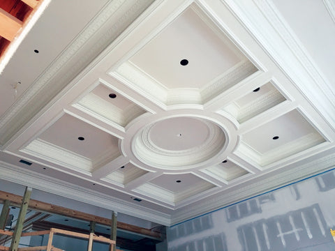 Pre Fabricated Coffered Ceiling Systems White River Hardwoods
