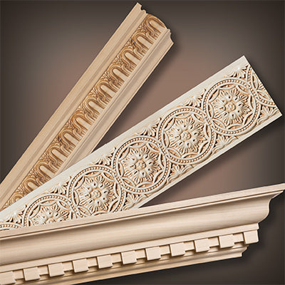 Hardwood Mouldings, Corbels & Architectural Woodcarvings | White