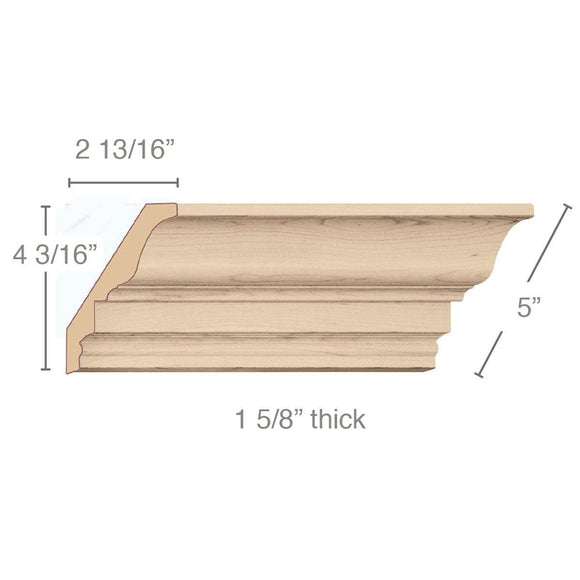 Crown Moulding for 3/4