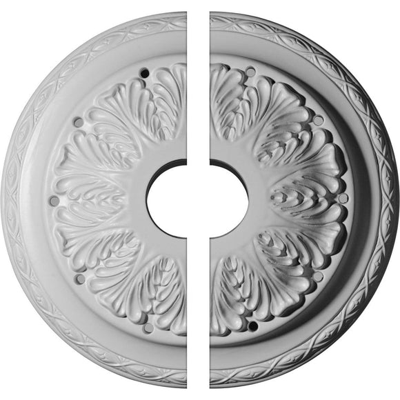Ceiling Medallion, Two Piece (Fits Canopies up to 4 1/2