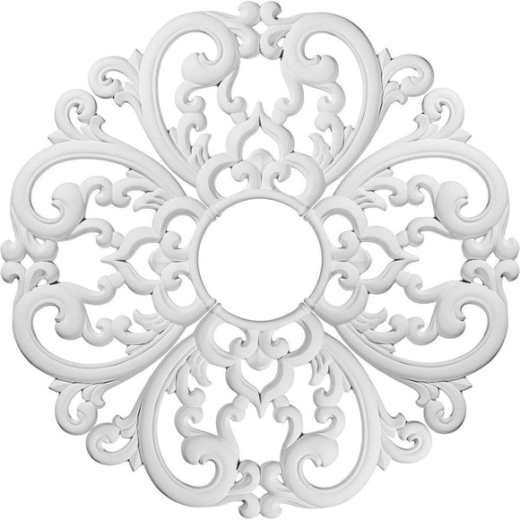 Ceiling Medallion (Comes in 4 separate pieces), 24