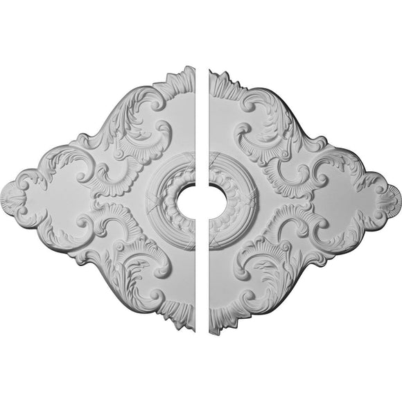 Ceiling Medallion, Two Piece (For Canopies up to 6