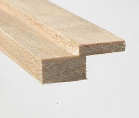 Brisbane, Contour Moulding, 14mm ( thickness ) x 1 1/4 x 90, Maple