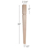 "Mission Tapered Square Island Column, 2  3/4""sq. x 36""h"