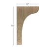 "Scotia Trim To Fit Corbel, 1  3/4""w x 18""h x 12""d"