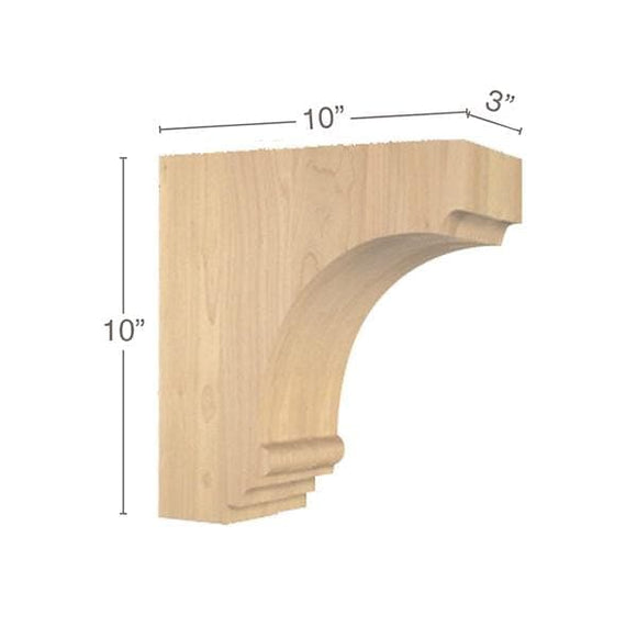 Cavetto Overhang Bracket, 3