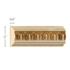 "Fluting Chairrail, 3/4""w x 3""d"