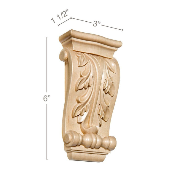 Small Acanthus Corbel, 3