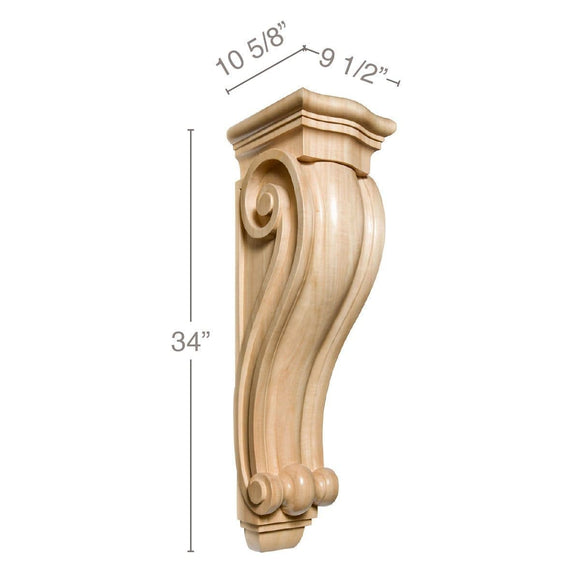 Grand Traditional Corbel, 9 1/2