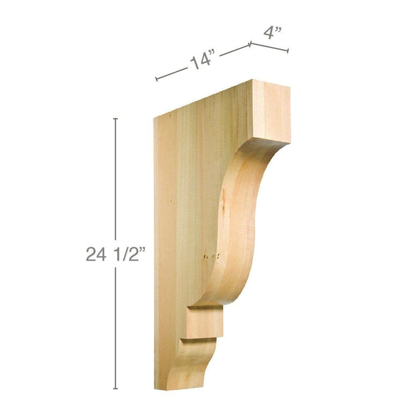 Large Rangehood Bracket Corbel, 4