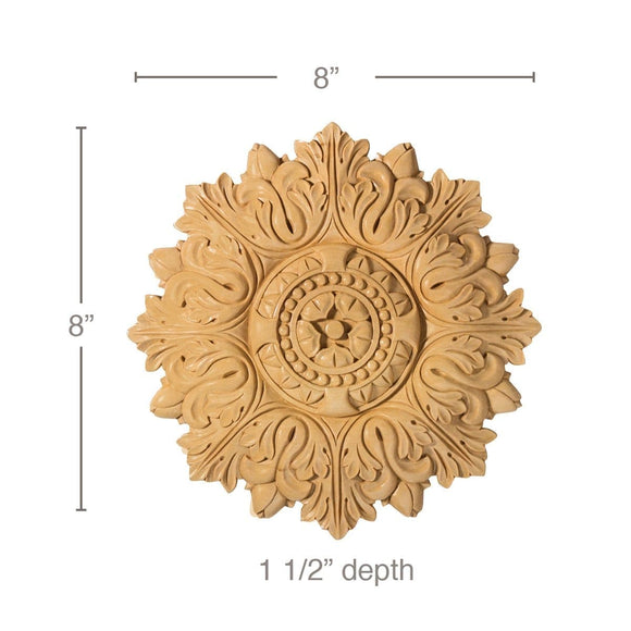 Small Acanthus Medallion, 8