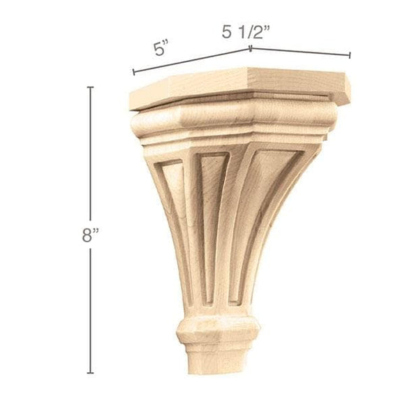 Medium Pinnacle Corbel, 5 1/2