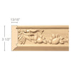 Sicilian Frieze(Repeats 9 1/4), 3 1/2''w x 13/16''d x 8' length, Resin is priced per 8' length