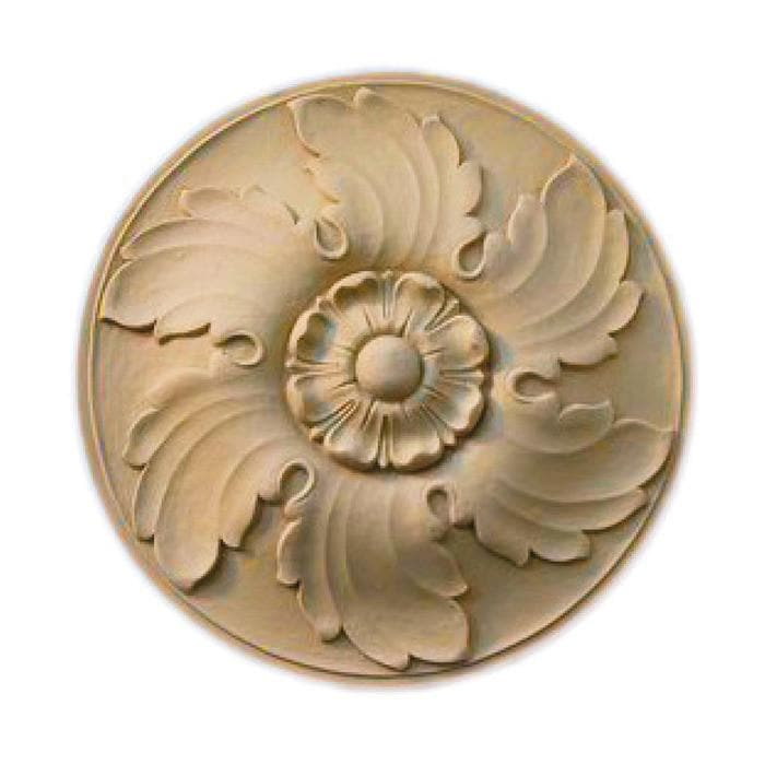 "Circle Rosette, 10""w x 10""h x 1""d, MADE TO ORDER, NOT RETURNABLE, MINIMUM ORDER AMOUNT $200"