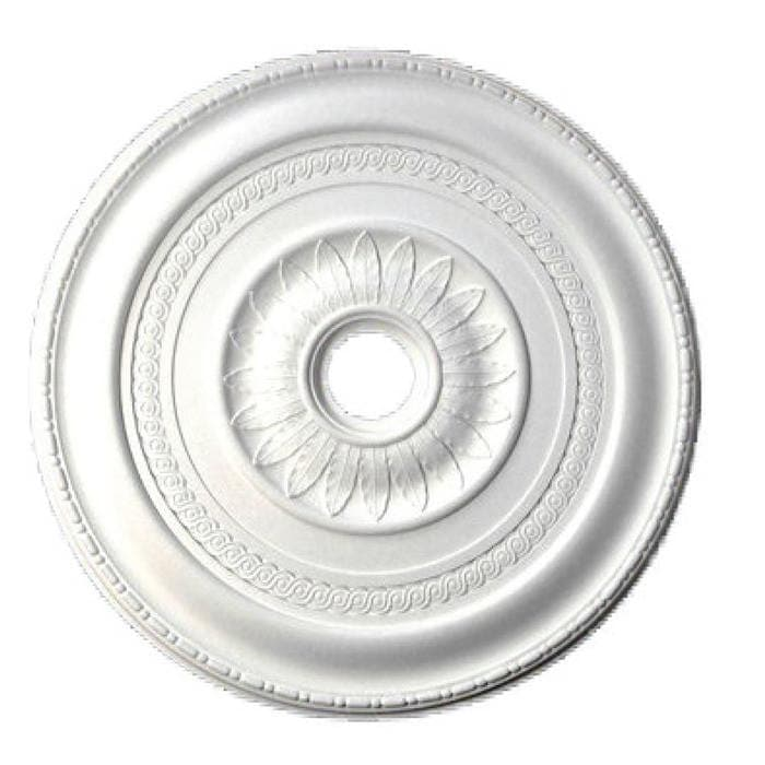 "Medallion, Plaster, 32 1/4""w x 32 1/4""h x 1 1/2""d, MADE TO ORDER, NOT RETURNABLE, MINIMUM ORDER AMOUNT $200"