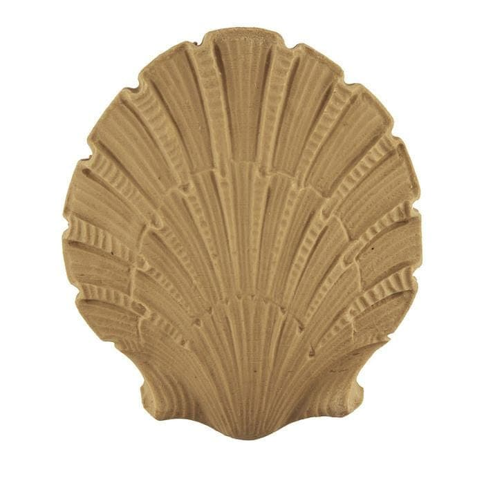 "Colonial Shell Onlay, 3 3/8""w x 3 3/4""h x 3/8""d"