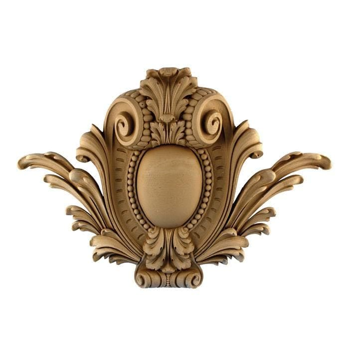 "Louis XVI Cartouche, 22""w x 15 1/2""h x 2 1/2""d, MADE TO ORDER, NOT RETURNABLE, MINIMUM ORDER AMOUNT $200"