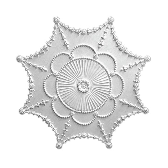 Empire Medallion, Plaster, 35