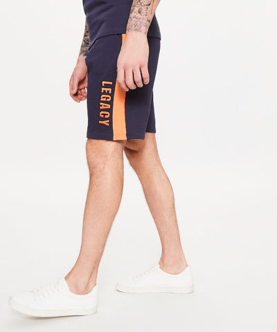 Dead Legacy Ink Blue Jersey Shorts