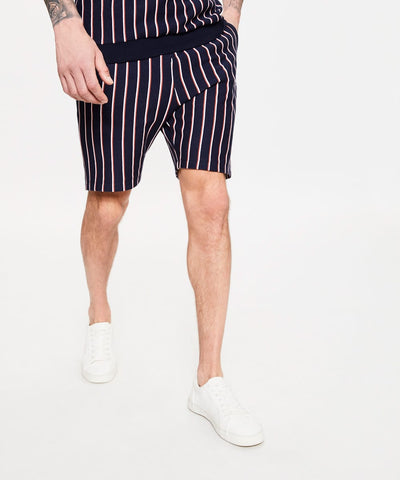 Dead Legacy Striped Jersey Shorts