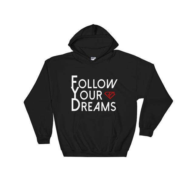 FYD Hooded Sweatshirt + ADD YOUR NAME