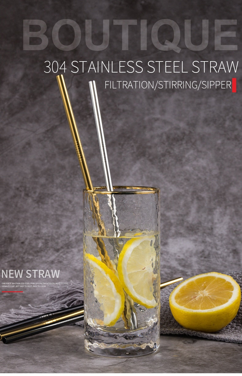 Reusable Stainless Steel Straws | 50% OFF FLASH SALE