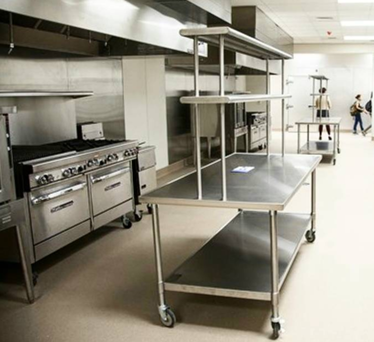 Hamilton Center for Culinary Enterprises Kitchen
