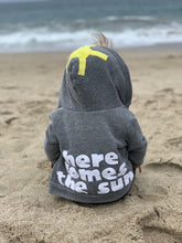 Load image into Gallery viewer, Kids Here Comes the Sun Fleece Jacket.