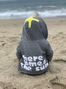 Kids Here Comes the Sun Fleece Jacket.