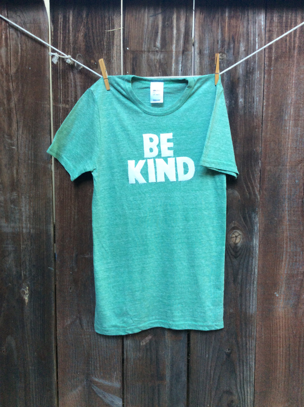Unisex BE KIND Tee for my friend Stacy