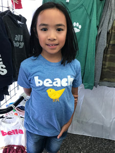 Kid's Beach Chick Tee