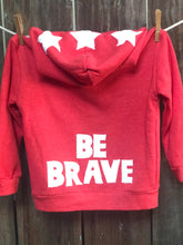 Load image into Gallery viewer, Infant Be Brave Fleece Jacket