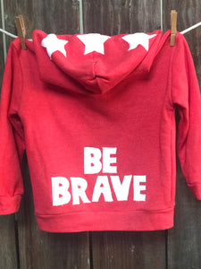 Infant Be Brave Fleece Jacket