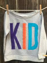 Load image into Gallery viewer, Kids KID French Terry Long Sleeve Tee