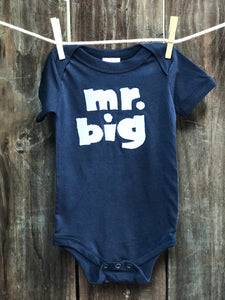 Infant Mr. Big One Piece