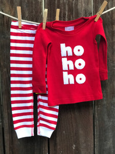 Infant Ho Ho Ho Pajamas