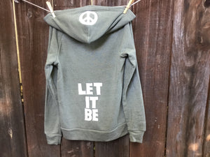 Women's LET IT BE Fleece Jacket