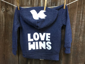Infant Love Wins Fleece Jacket