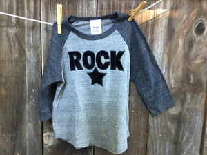 Unisex Rock Star Baseball Tee