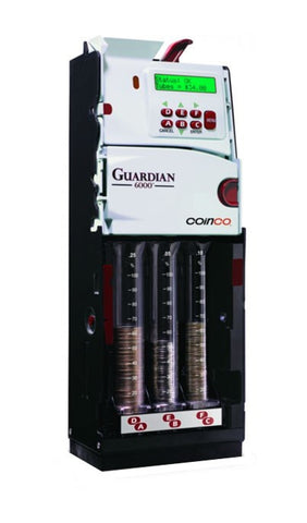 Coinco Guardian 6 Tube Coin Mechanism