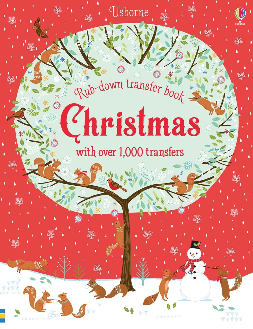 Christmas Rub-Down Transfer Book