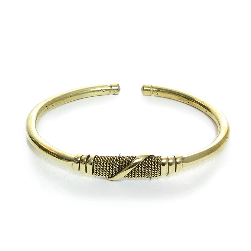 Golide Adjustable Gold Kenyan Bracelet