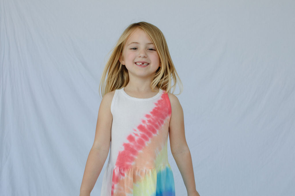 Jess Dress, in Rainbow