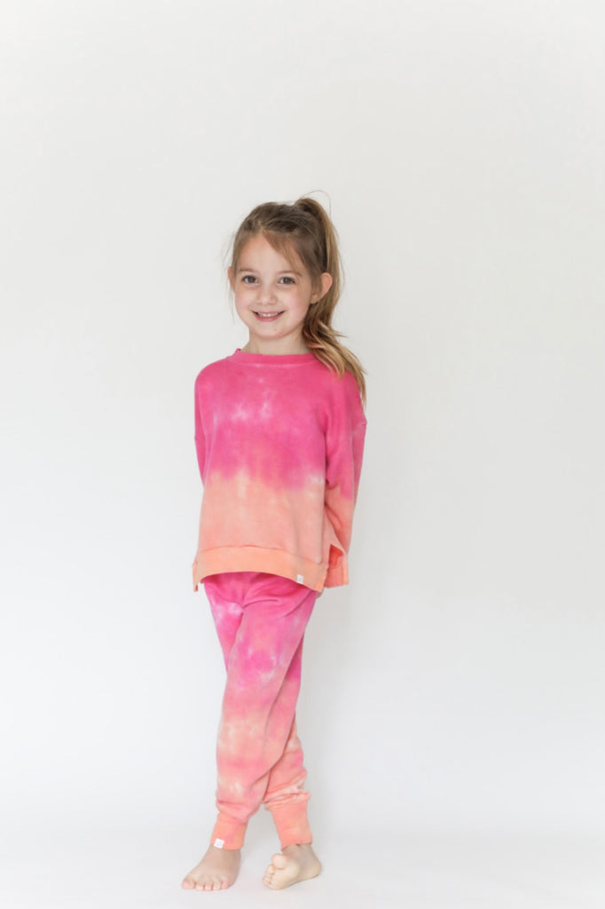 Sunset Kids High Hem Pullover