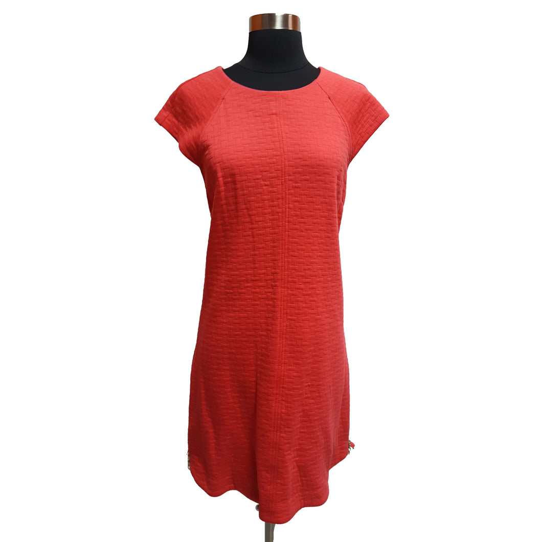 Laundry by Shelli Segal Cap-Sleeved Dress