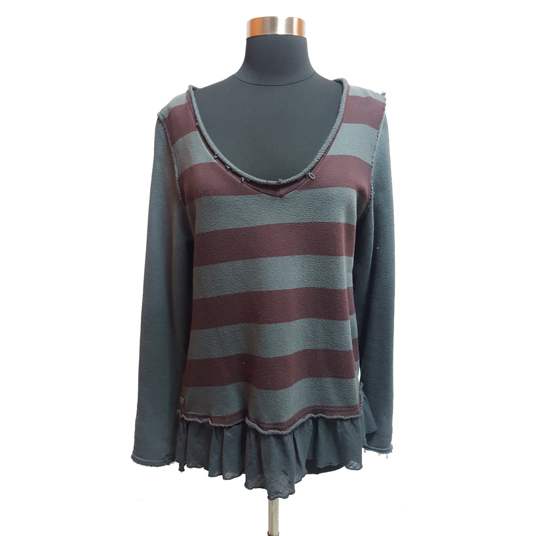 We the Free from Free People Striped Top
