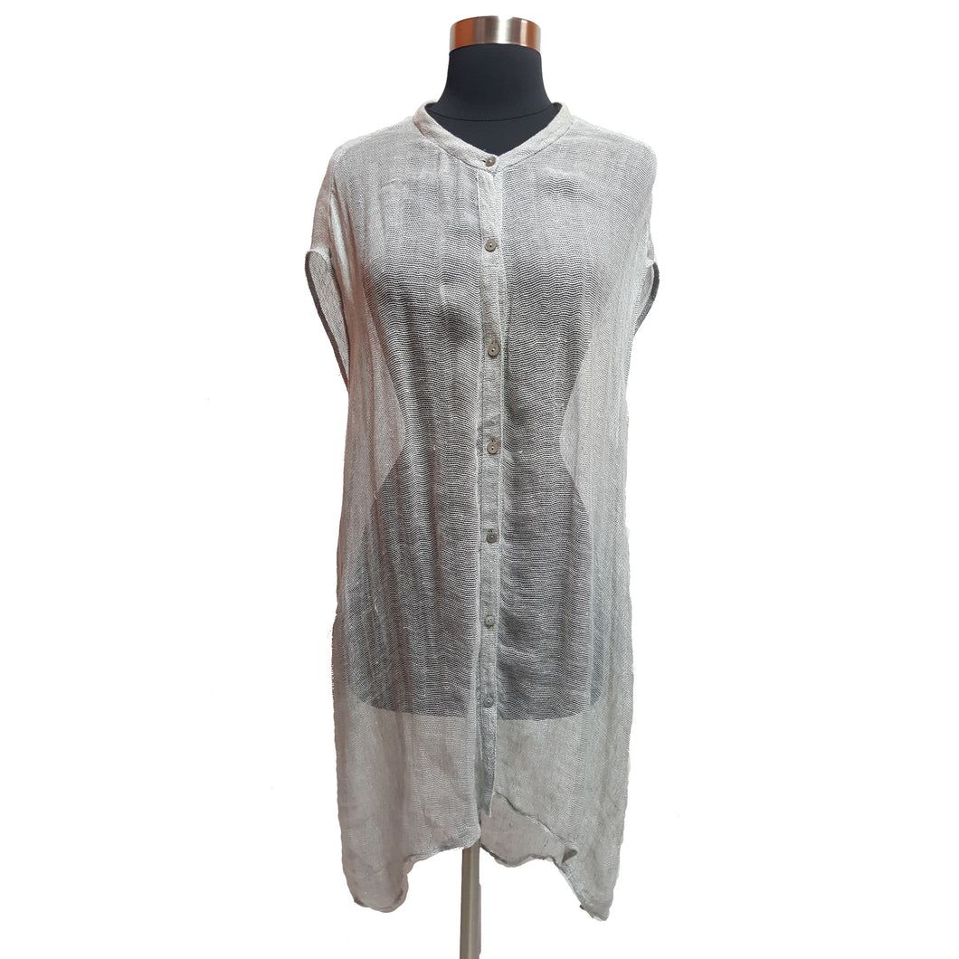 Eileen Fisher Long Sheer Cardigan