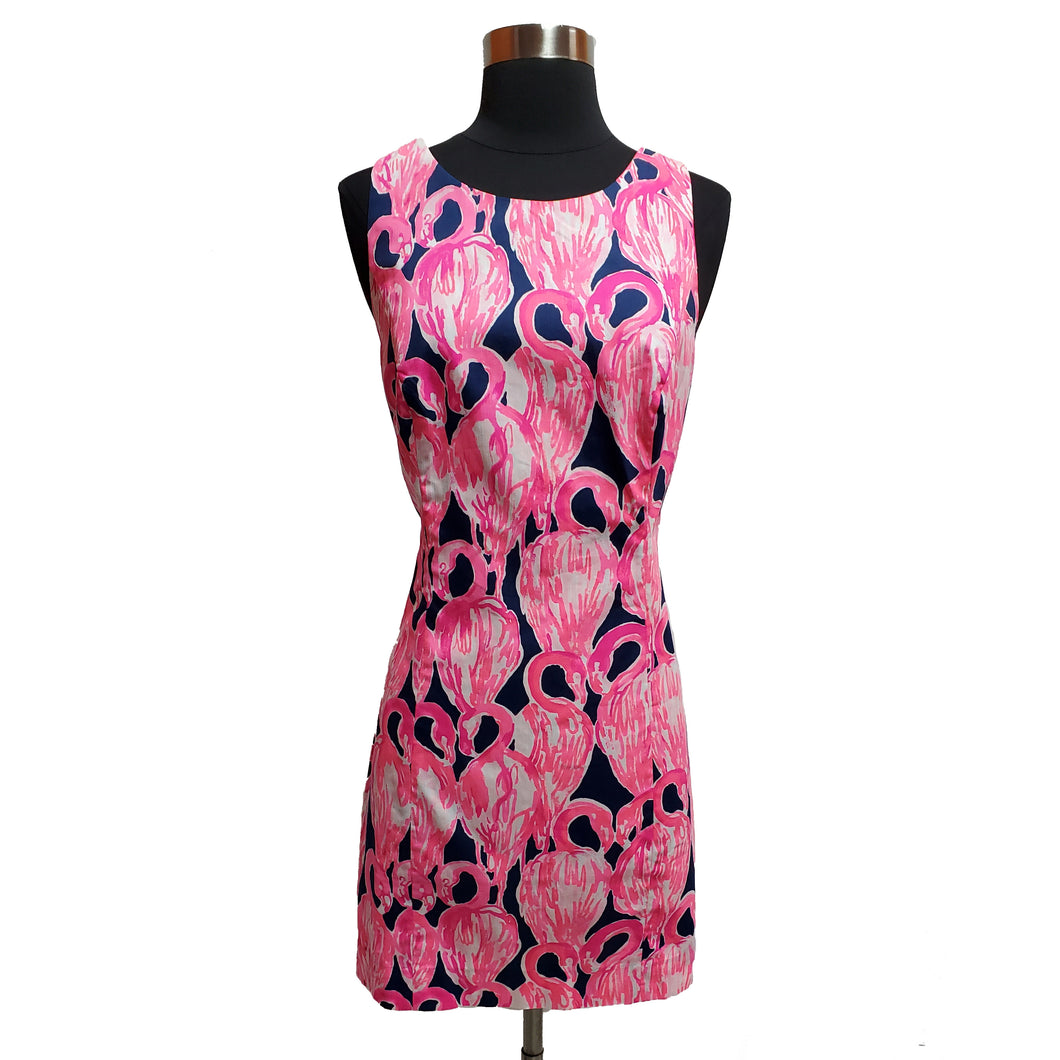 Lilly Pulitzer Flamingo Dress