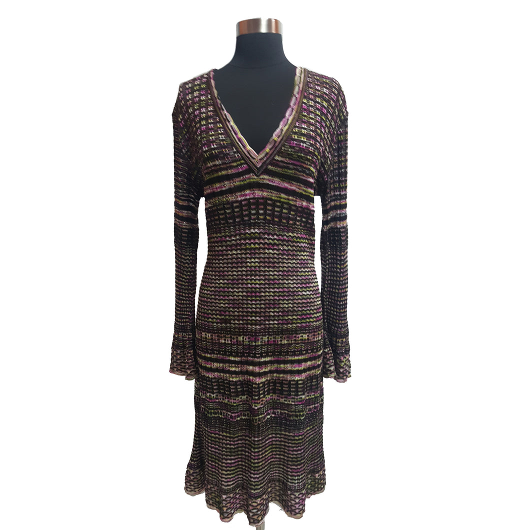 M Missoni Striped  Dress